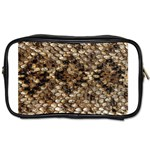 Snake Print	 Toiletries Bag (Two Sides)