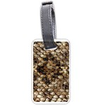 Snake Print	 Luggage Tag (one side)