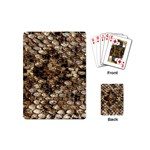 Snake Print	 Playing Cards (Mini)