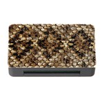 Snake Print	Memory Card Reader with CF (Rectangular)