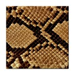 Snake Print Big	 Tile Coaster