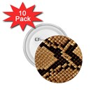 Snake Print Big	 1.75  Button (10 pack)