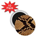 Snake Print Big	 1.75  Magnet (10 pack)