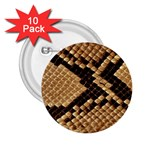 Snake Print Big	 2.25  Button (10 pack)
