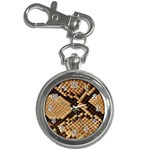Snake Print Big	 Key Chain Watch