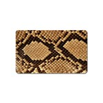 Snake Print Big	 Magnet (Name Card)