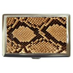 Snake Print Big	 Cigarette Money Case