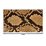 Snake Print Big	 Business Card Holder