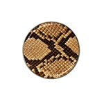 Snake Print Big	 Hat Clip Ball Marker
