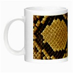Snake Print Big	 Night Luminous Mug