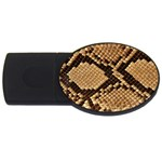 Snake Print Big	 USB Flash Drive Oval (4 GB)