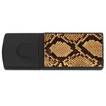 Snake Print Big	 USB Flash Drive Rectangular (4 GB)