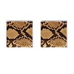 Snake Print Big	 Cufflinks (Square)