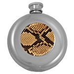 Snake Print Big	 Hip Flask (5 oz)