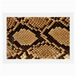 Snake Print Big	 Glasses Cloth (Large)