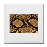 Snake Print Big	 Face Towel