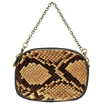 Snake Print Big	 Chain Purse (One Side)
