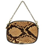 Snake Print Big	 Chain Purse (Two Sides)