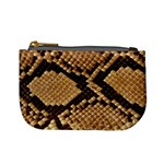 Snake Print Big	 Mini Coin Purse