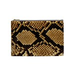 Snake Print Big	 Cosmetic Bag (Medium)
