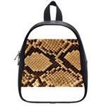 Snake Print Big	 School Bag (Small)
