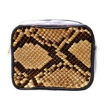 Snake Print Big	 Mini Toiletries Bag (One Side)