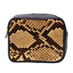 Snake Print Big	 Mini Toiletries Bag (Two Sides)