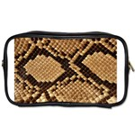 Snake Print Big	 Toiletries Bag (Two Sides)