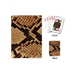 Snake Print Big	 Playing Cards (Mini)
