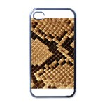 Snake Print Big	 Apple iPhone 4 Case (Black)
