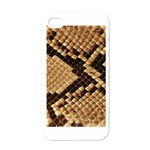 Snake Print Big	 Apple iPhone 4 Case (White)