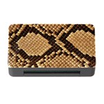 Snake Print Big	Memory Card Reader with CF (Rectangular)