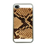 Snake Print Big	 Apple iPhone 4 Case (Clear)