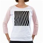Zebra Print	 Girly Raglan