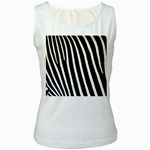 Zebra Print	 Women s Tank Top