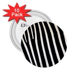 Zebra Print	 2.25  Button (10 pack)