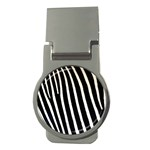 Zebra Print	 Money Clip (Round)