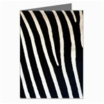Zebra Print	 Greeting Card