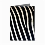 Zebra Print	 Mini Greeting Card