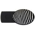 Zebra Print	 USB Flash Drive Oval (2 GB)