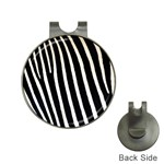Zebra Print	 Golf Ball Marker Hat Clip