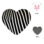 Zebra Print	Playing Cards (Heart)