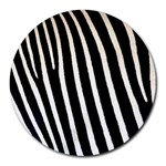 Zebra Print	Collage Round Mousepad