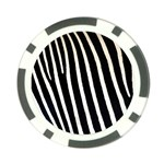 Zebra Print	 Poker Chip Card Guard
