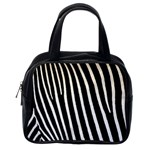 Zebra Print	 Classic Handbag (One Side)