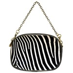 Zebra Print	 Chain Purse (One Side)