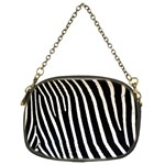 Zebra Print	 Chain Purse (Two Sides)
