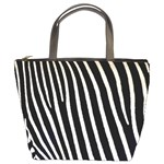 Zebra Print	 Bucket Bag