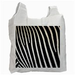 Zebra Print	 Recycle Bag (One Side)