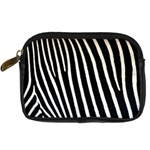 Zebra Print	 Digital Camera Leather Case
